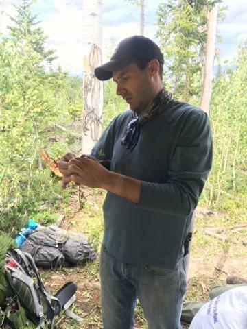 Matt makes cordage